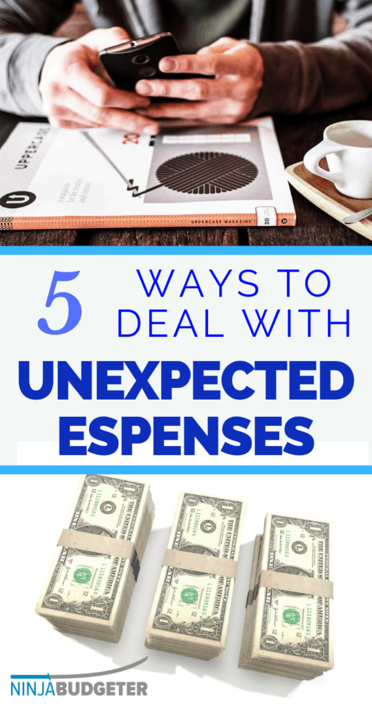 How to deal with unexpected expenses, How To Deal With Unexpected Expenses