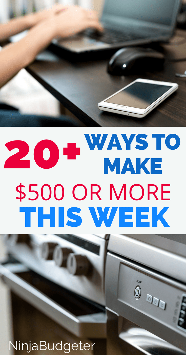 how to make $500 fast, 21+ Creative Ways To Make $500 FAST