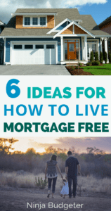 living mortgage free