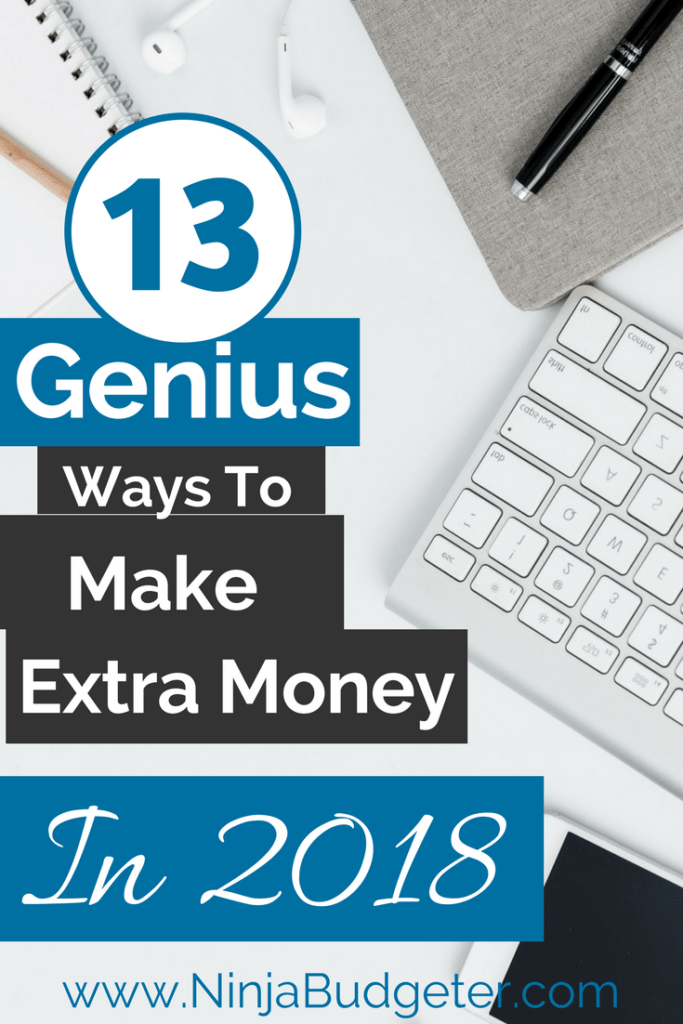 make extra money in 2018