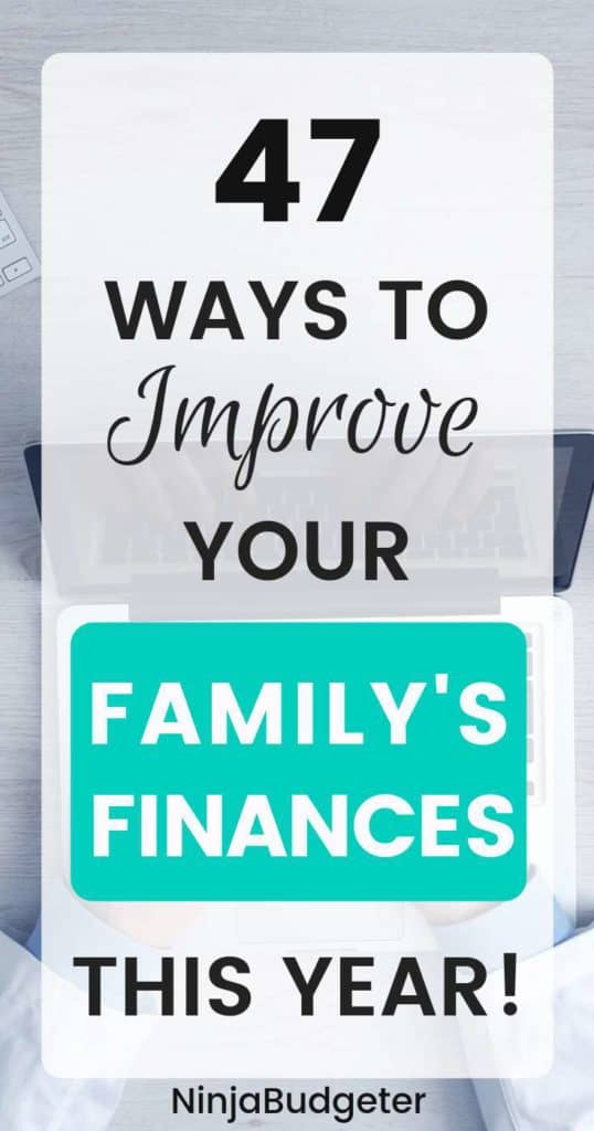 ways to improve finances