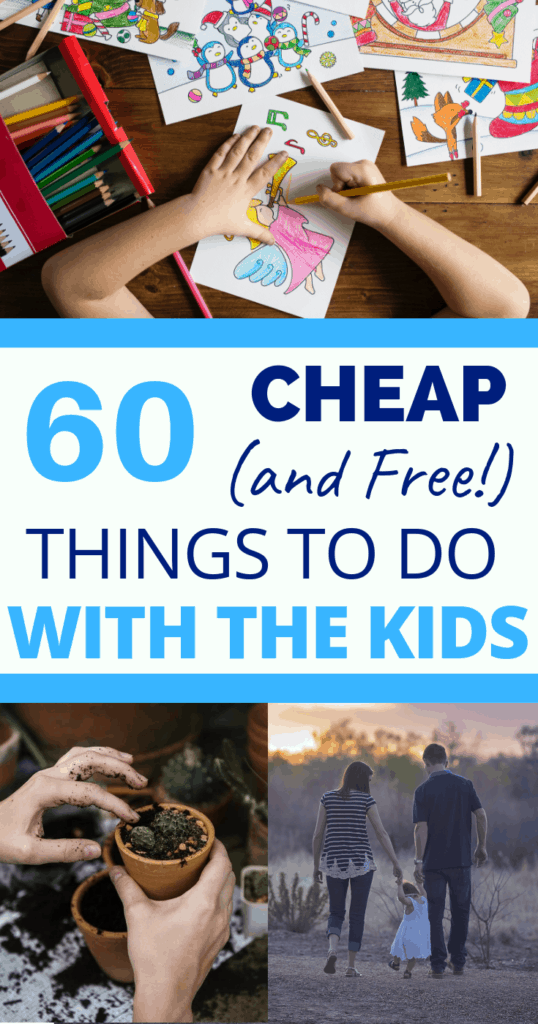 cheap things to do with kids